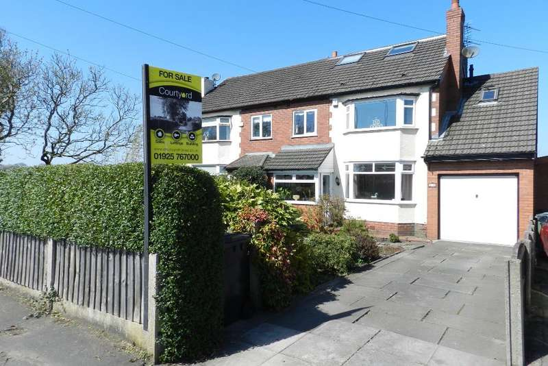 3 Bedrooms Semi Detached House for sale in Newton Road, Lowton, Warrington, WA3 1JE