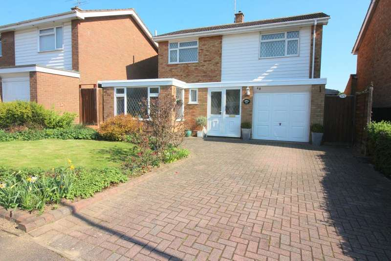 4 Bedrooms Detached House for sale in Brompton Close, Luton, Bedfordshire, LU3 3QT