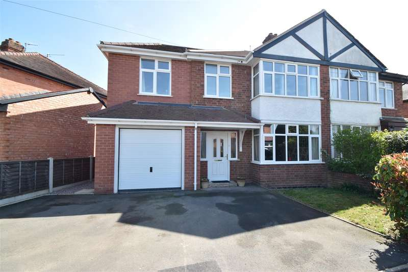 3 Bedrooms Semi Detached House for sale in Oakleigh Avenue, Hallow, Worcester