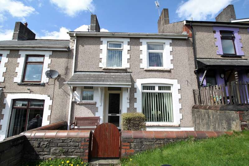 3 Bedrooms Terraced House for sale in Tredegar Terrace, Aberbargoed, Bargoed, CF81