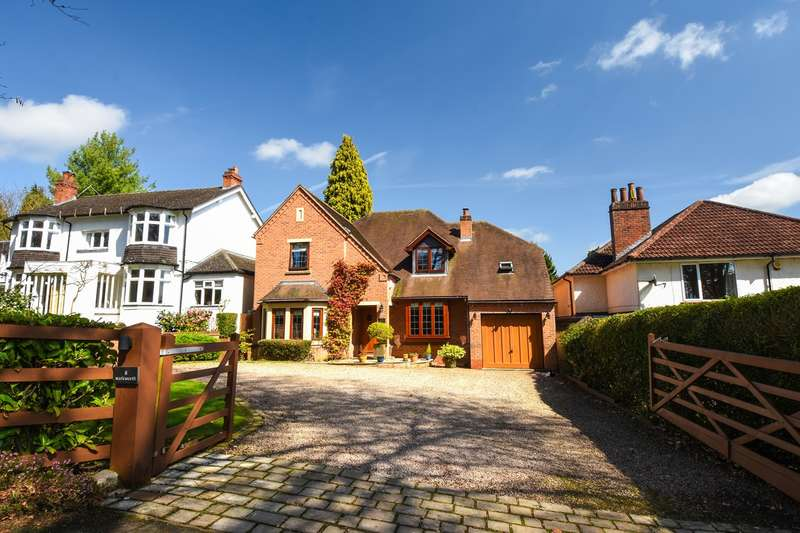 5 Bedrooms Detached House for sale in Cherry Hill Drive, Barnt Green, Birmingham, B45