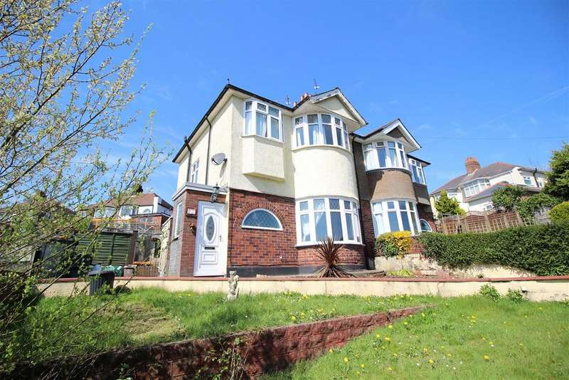 3 Bedrooms Semi Detached House for sale in Cae Perllan Road, Newport