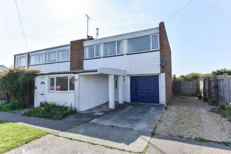 4 Bedrooms Semi Detached House for sale in Canal Road, Yapton