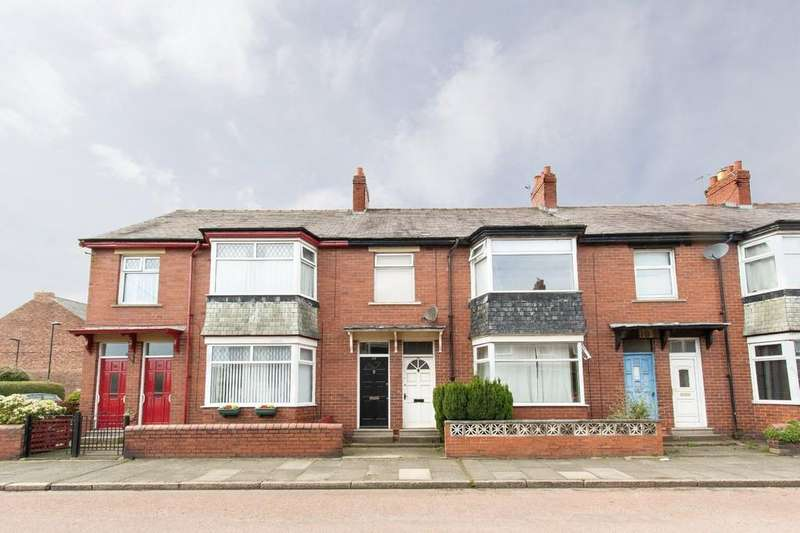 3 Bedrooms Flat for sale in Whitefield Terrace, Heaton, NE6