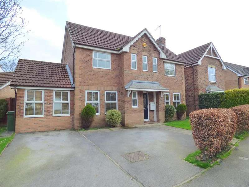 3 Bedrooms Detached House for sale in Megson Way, Walkington, Beverley, East Yorkshire, HU17 8YA