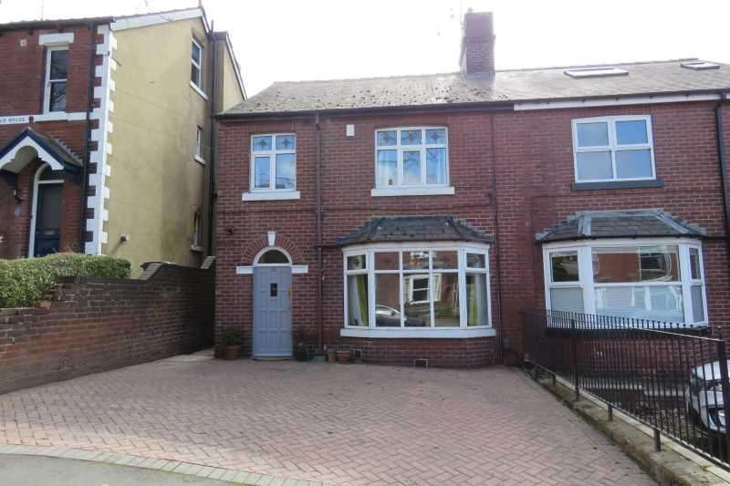 3 Bedrooms Semi Detached House for sale in Newlyn Road, Woodseats, Sheffield, S8 8SU