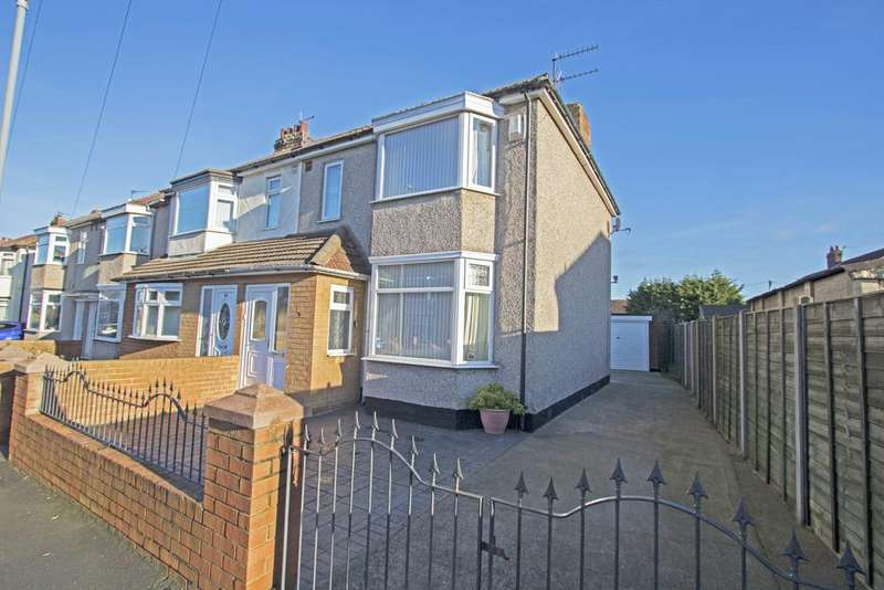 3 Bedrooms End Of Terrace House for sale in Downside Road, Acklam TS5