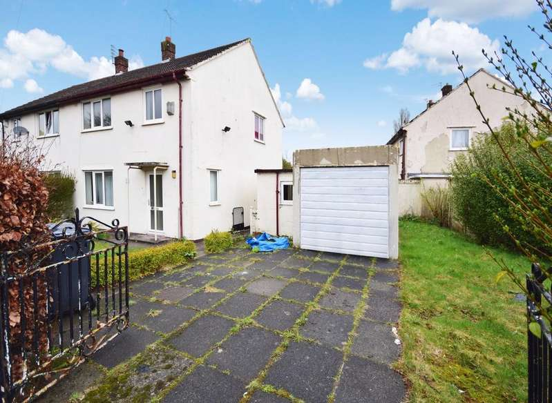 3 Bedrooms Semi Detached House for sale in Maismore Road, Wythenshawe