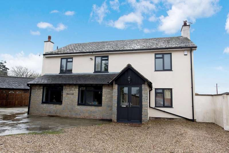 5 Bedrooms Detached House for sale in Chedzoy Lane, Chedzoy, Bridgwater