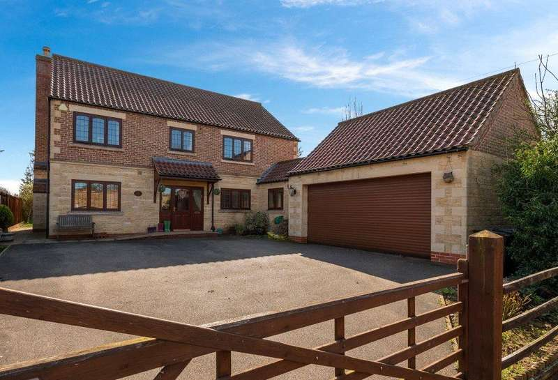 4 Bedrooms Detached House for sale in Mill Lane, Horbling, Sleaford, NG34