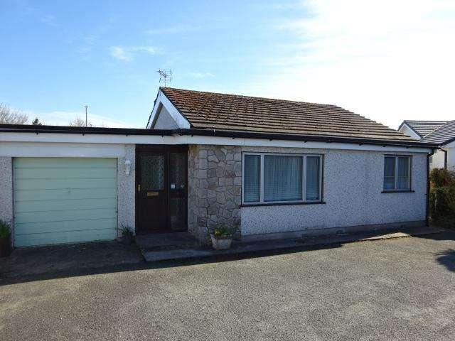 3 Bedrooms Semi Detached Bungalow for sale in PANT LODGE, LLANFARPWLL LL61