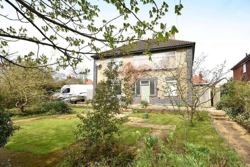 5 Bedrooms Detached House for sale in Valley Road, Ipswich, IP1 4NF