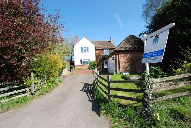 4 Bedrooms Detached House for sale in Colchester Road, Chappel, Essex