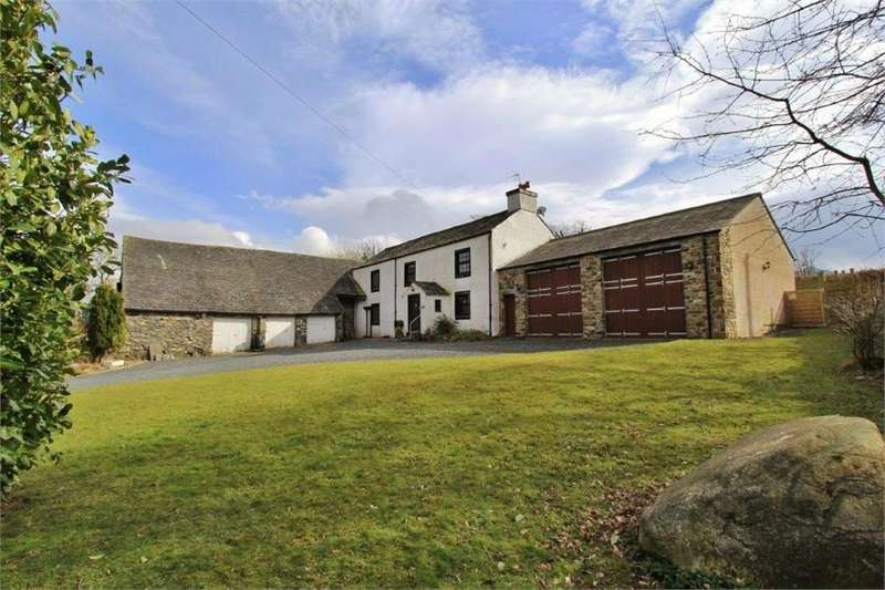 4 Bedrooms Detached House for sale in Robin Hood Farmhouse, Bassenthwaite, Keswick, Cumbria