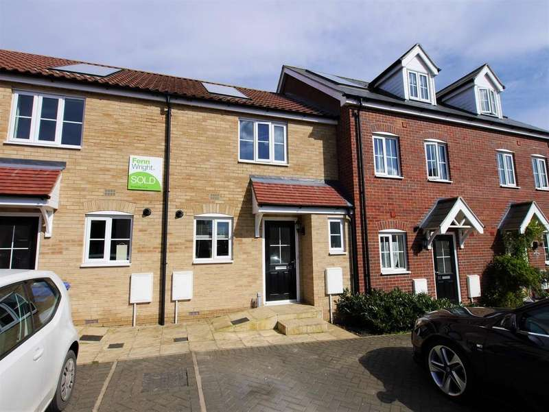 2 Bedrooms Terraced House for sale in 82 Mary Clarke Close, Hadleigh, Ipswich, Suffolk, IP7 6FD