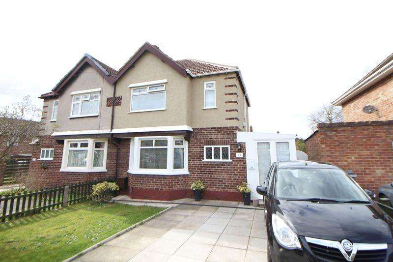 2 Bedrooms Semi Detached House for sale in Mill Park Drive, Wirral