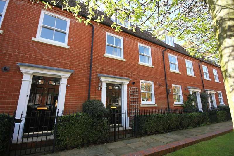 3 Bedrooms Town House for sale in CHARTER COURT, GIGANT STREET, SALISBURY, WILTSHIRE, SP1 2LH