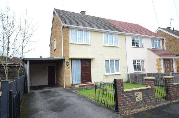 3 Bedrooms Semi Detached House for sale in Waterloo Crescent, Wokingham, Berkshire