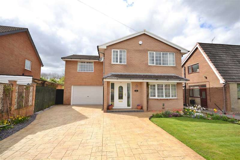 5 Bedrooms Detached House for sale in Shawbrook Close, Euxton, Chorley