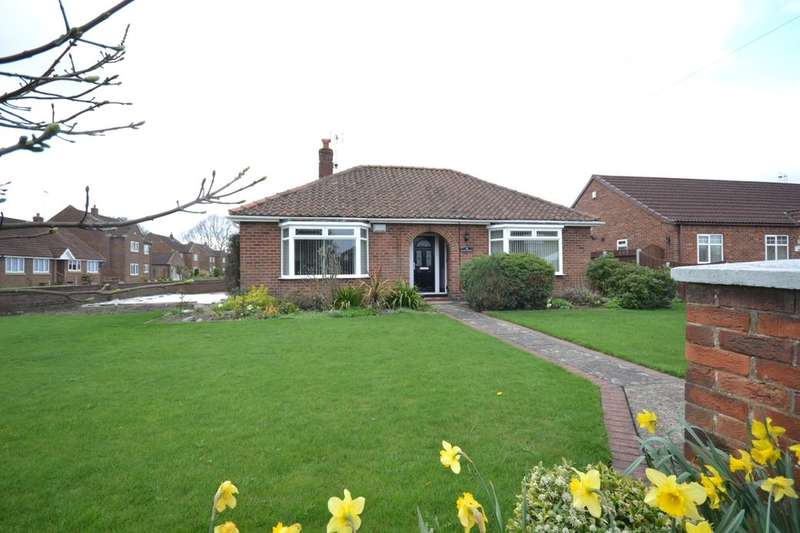 3 Bedrooms Detached Bungalow for sale in York Road, Barlby, Selby, YO8