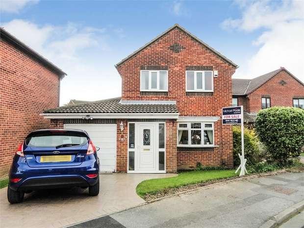 4 Bedrooms Detached House for sale in Budworth Close, Billingham, Durham