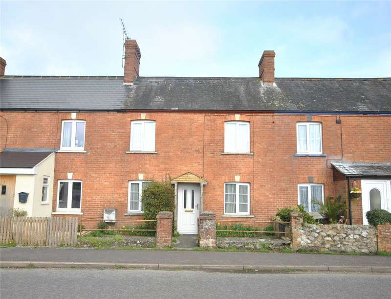 2 Bedrooms Terraced House for sale in Bridge Cottages, Chard Junction, Chard, Somerset, TA20