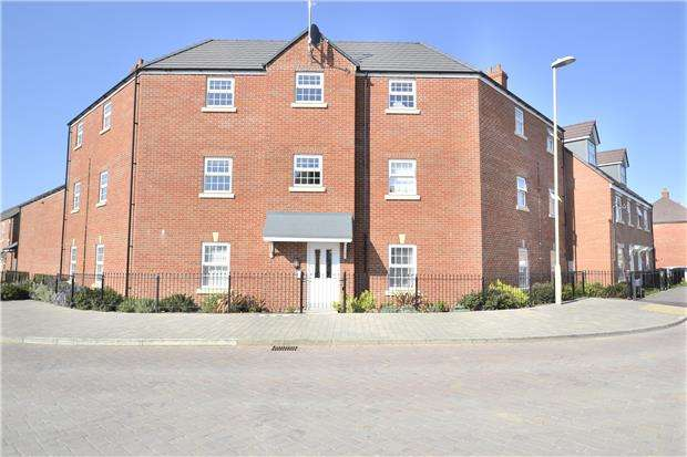 2 Bedrooms Flat for sale in Goose Bay Drive Kingsway, Quedgeley, GLOUCESTER, GL2 2EU