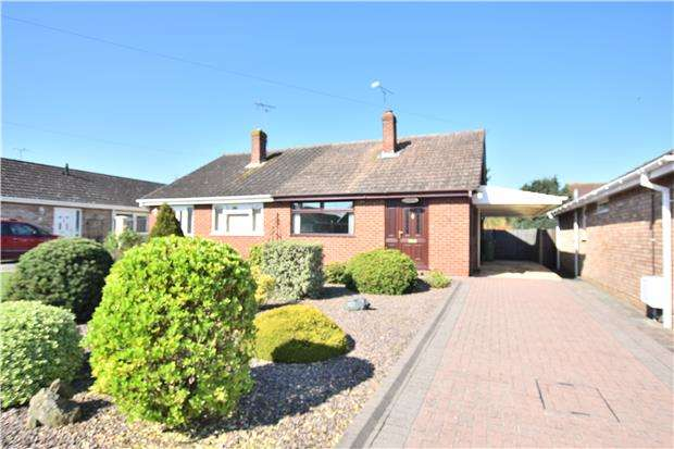 2 Bedrooms Semi Detached Bungalow for sale in Montfort Road, GLOUCESTER, GL2 0ES