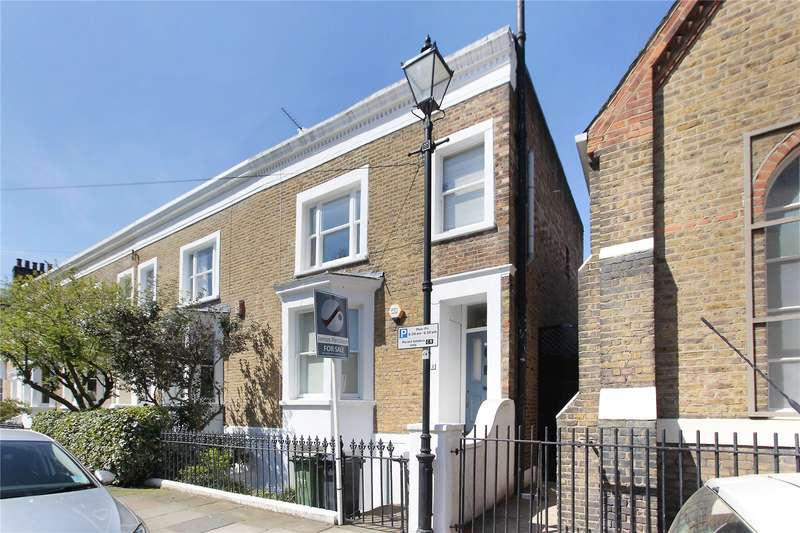 3 Bedrooms House for sale in Fitzwilliam Road, Clapham, London, SW4