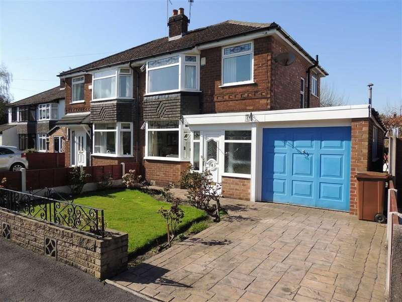 3 Bedrooms Semi Detached House for sale in Forbes Close, Offerton, Stockport