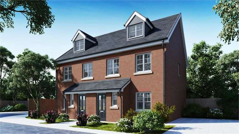 4 Bedrooms Semi Detached House for sale in Vicarage Gardens, Platt Bridge, Wigan, WN2