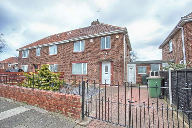 3 Bedrooms Semi Detached House for sale in Wheeldale Avenue, Redcar