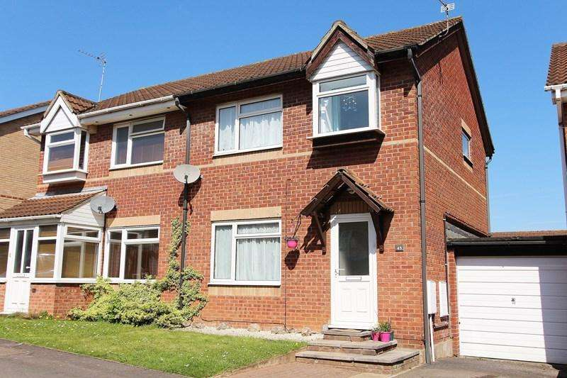 3 Bedrooms Semi Detached House for sale in Jeffery Court, Warmley, Bristol