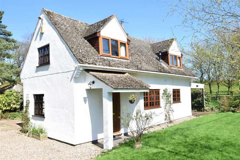 3 Bedrooms House for sale in Rope Walk Cottage, Lyth Hill, Lyth Bank, Shrewsbury, SY3 0BS