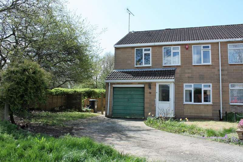 4 Bedrooms Semi Detached House for sale in Turnham Green, Freshbrook, Swindon SN5