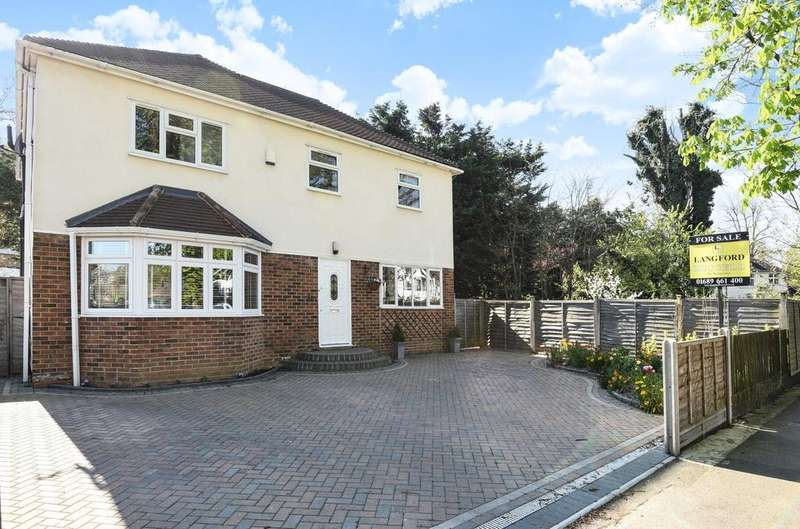 4 Bedrooms Detached House for sale in Repton Road Orpington BR6
