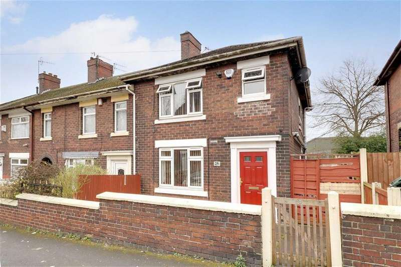 3 Bedrooms End Of Terrace House for sale in Josiah Wedgwood Street, Etruria, Stoke-on-Trent