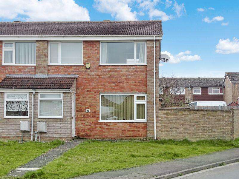 3 Bedrooms End Of Terrace House for sale in Blackmore Road, Melksham