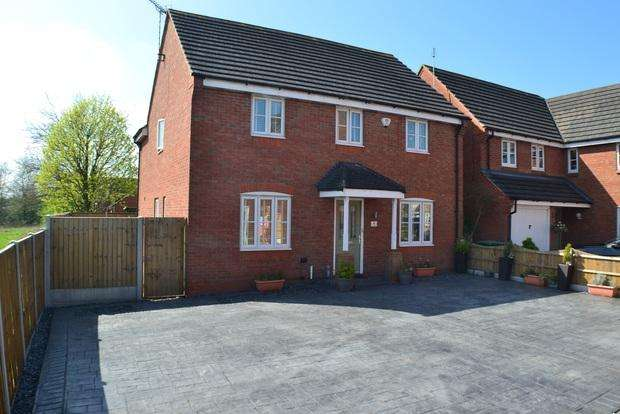 4 Bedrooms Detached House for sale in Parnell Close, Littlethorpe, Leicester, LE19