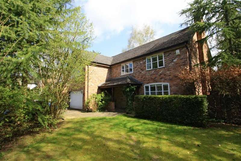 4 Bedrooms Detached House for sale in Hunters Mews, Off Macclesfield Road, Wilmslow