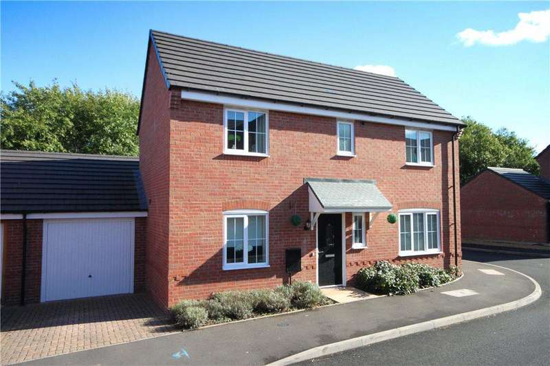 3 Bedrooms Link Detached House for sale in Hawkstone Close, Kidderminster, Worcestershire, DY11