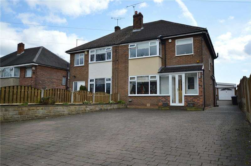 3 Bedrooms Semi Detached House for sale in Elland Road, Churwell, Leeds