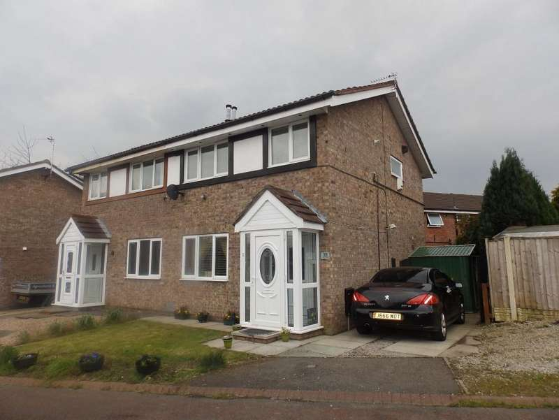 3 Bedrooms Semi Detached House for sale in Ash Meadow, Lea Preston, PR2