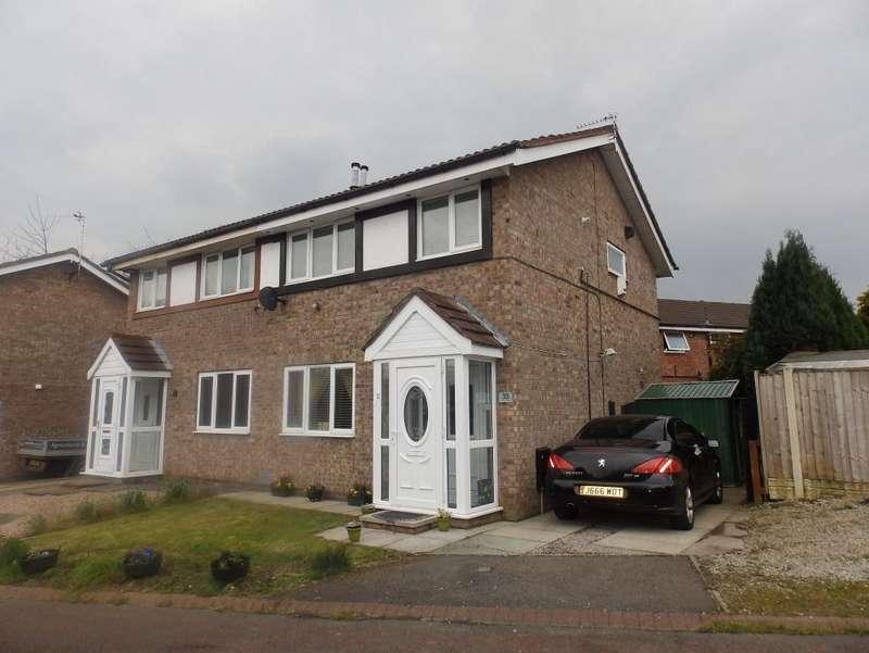 3 Bedrooms Semi Detached House for sale in Ash Meadow, Lea Preston, PR2