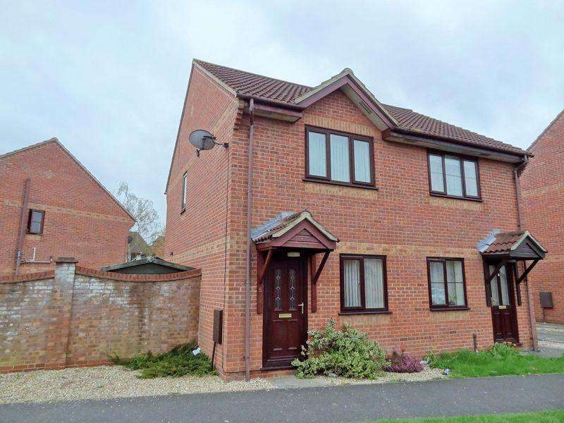 2 Bedrooms Semi Detached House for sale in Clarks Road, Bridgwater