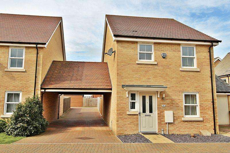 3 Bedrooms Detached House for sale in Mars Drive, Biggleswade