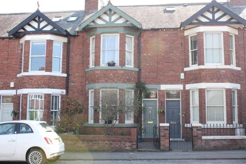 3 Bedrooms Terraced House for sale in 210 Bishopthorpe Road York YO23 1LF