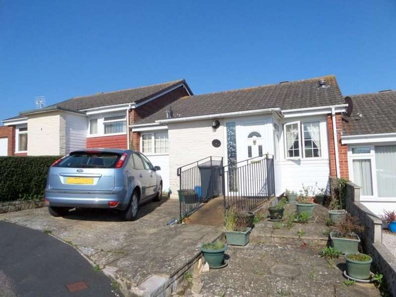 2 Bedrooms Terraced Bungalow for sale in Parson Close, Exmouth