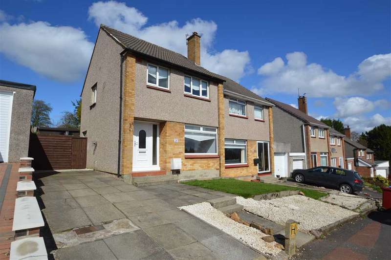 3 Bedrooms Semi Detached House for sale in Balfron Crescent, Earnock, Hamilton