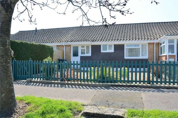2 Bedrooms Terraced Bungalow for sale in Tozer Close, Wallisdown, Bournemouth